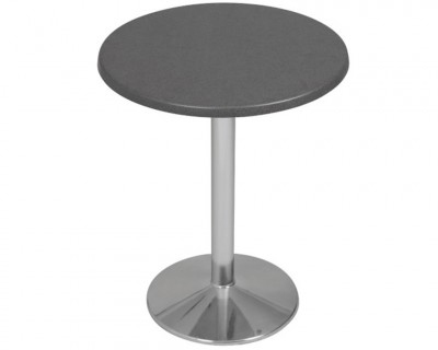 Table Stratifiée Pied en Aluminium (S650)