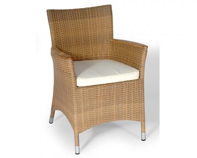 Galette pour fauteuil en fibre synthétique