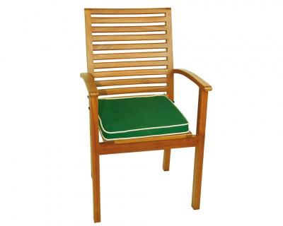 Galette pour fauteuil en bois