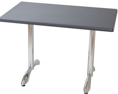 Table Stratifiée Pied en Aluminium (S633)