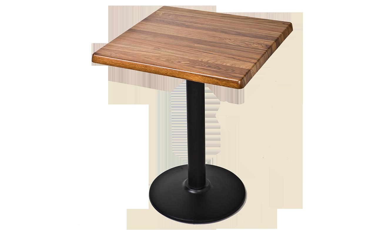Table stratifi e pied en fonte tb101 mobilier de for Table th tbody
