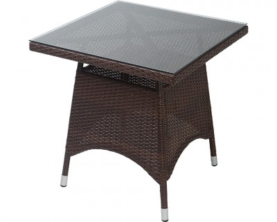 Table Mirano dessus verre