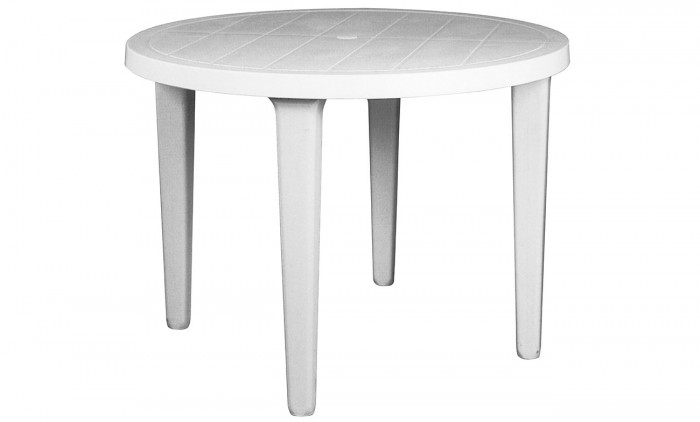 Table Ronde résine - Mobilier de jardin Meuble design ...