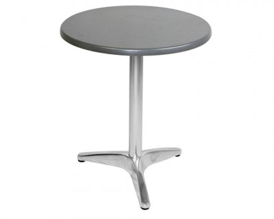 Table Stratifiée Pied en Aluminium (S603)