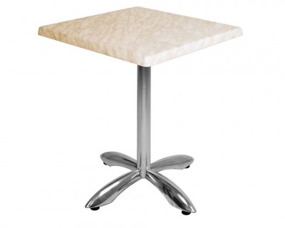 Table Stratifiée Pied en Aluminium (S601)