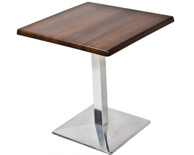 Table Stratifiée Pied en Aluminium
