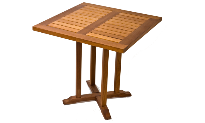 Table acajou - Mobilier de jardin Meuble design Intérieur Extérieur