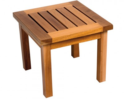 Table basse acajou