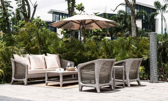 Salon Dynasty - Mobilier de jardin Meuble design Intérieur Extérieur
