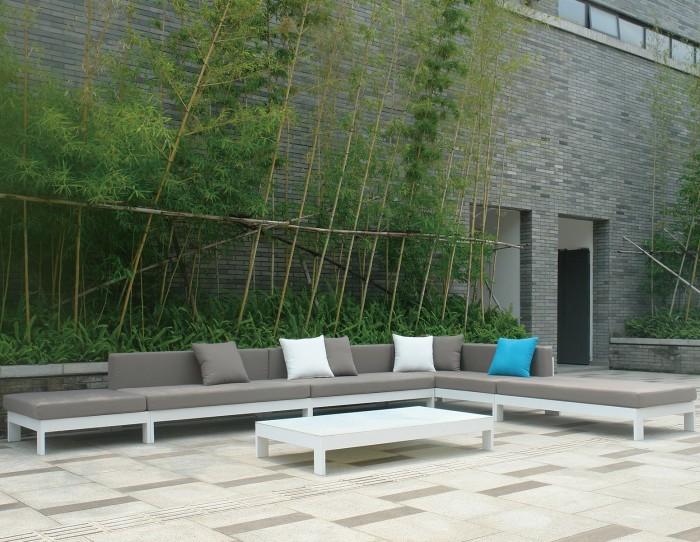 MARBELLA SOFA - Mobilier de jardin Meuble design Intérieur Extérieur