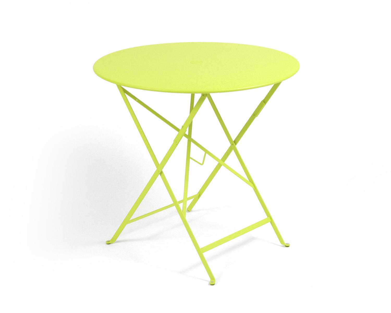 Table pliable en m tal nancy mobilier de jardin meuble design int rieur ext rieur - Mobilier jardin nancy poitiers ...