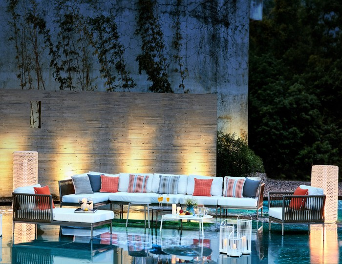 CASABLANCA SOFA - Mobilier de jardin Meuble design Intérieur Extérieur