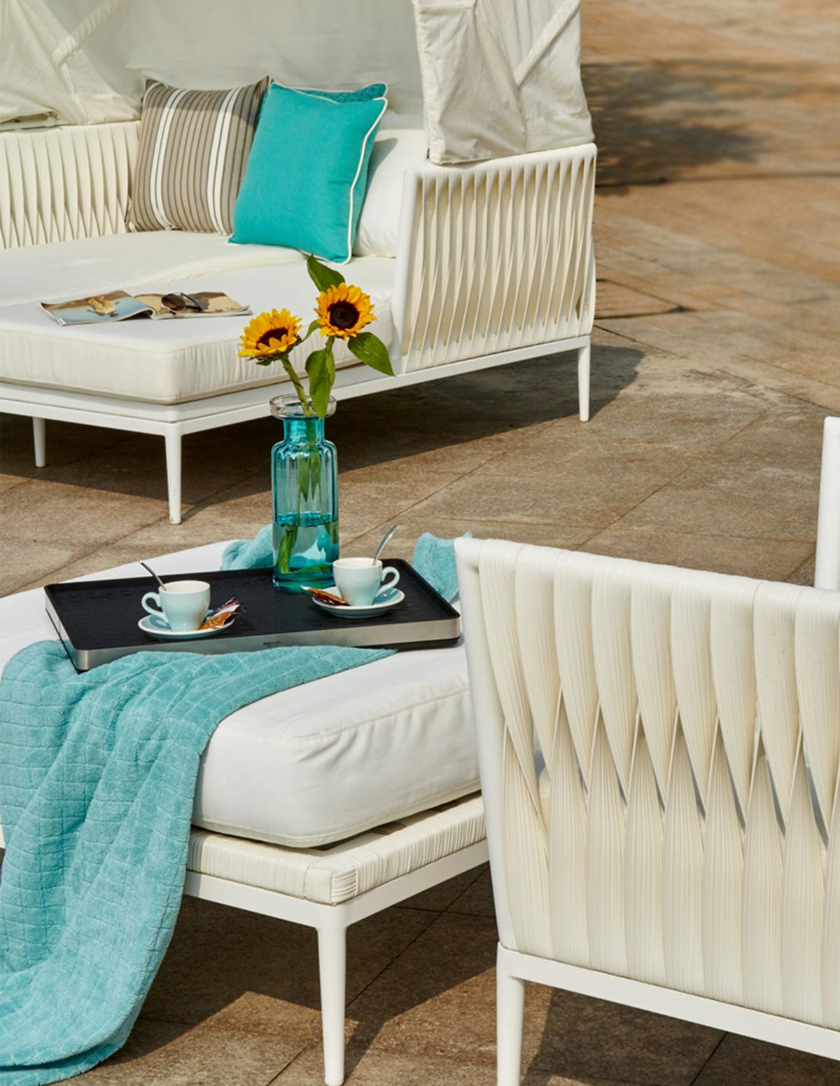 CASABLANCA DAY-BED - Mobilier de jardin Meuble design Intérieur ...