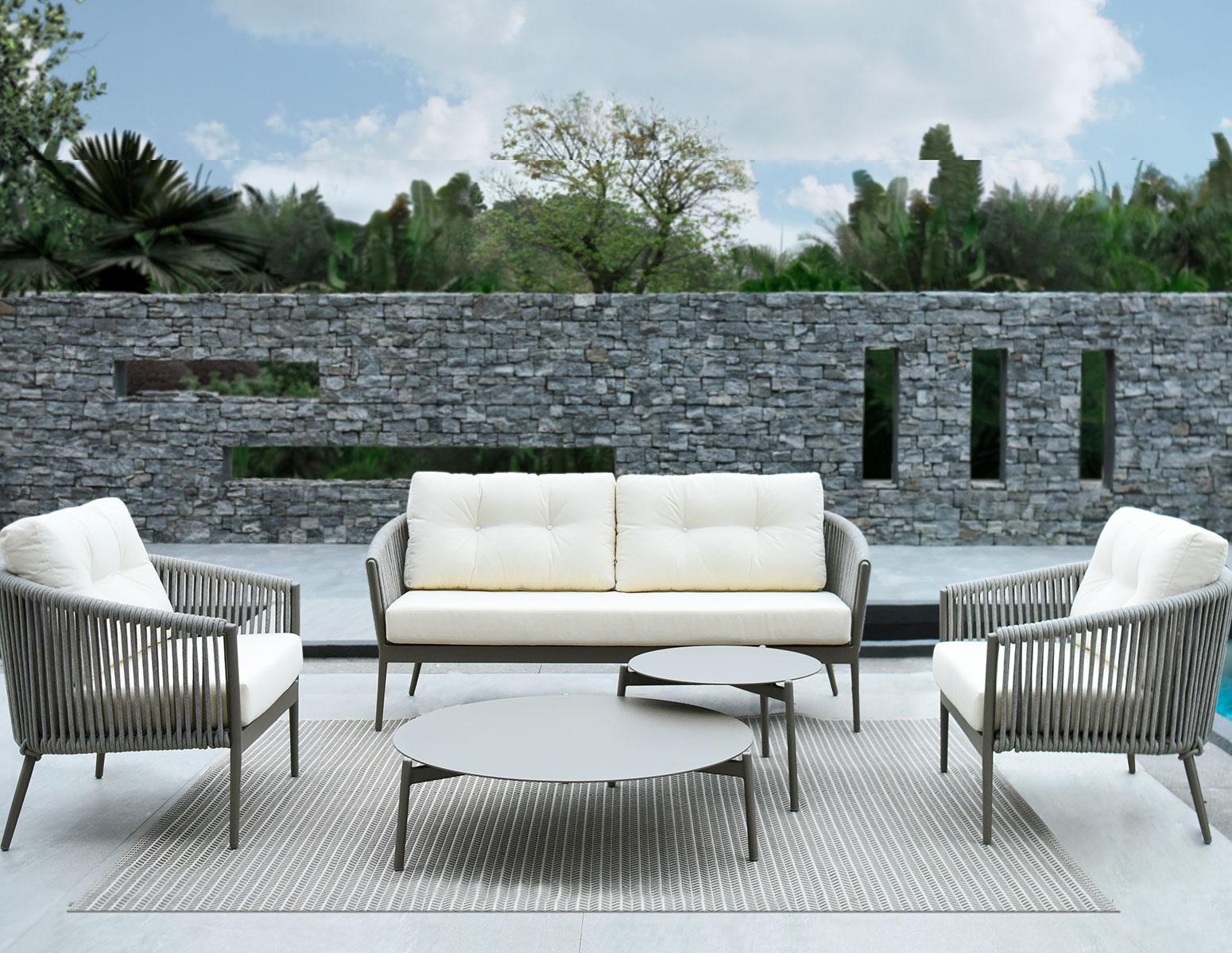 CANAPÉ CASABLANCA 2 PLACES - Mobilier de jardin Meuble design ...
